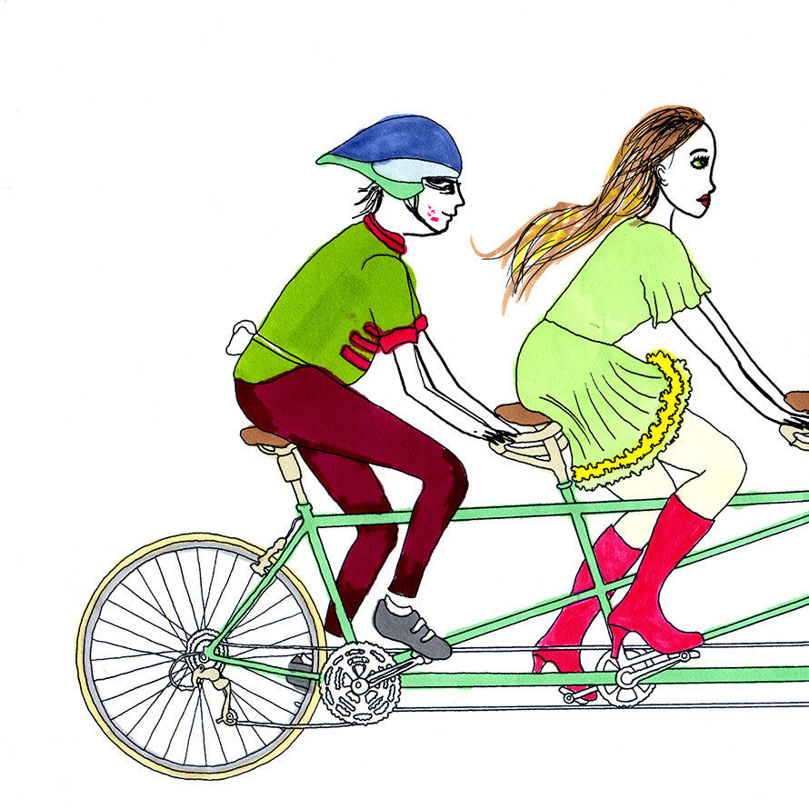 bicycle for four people