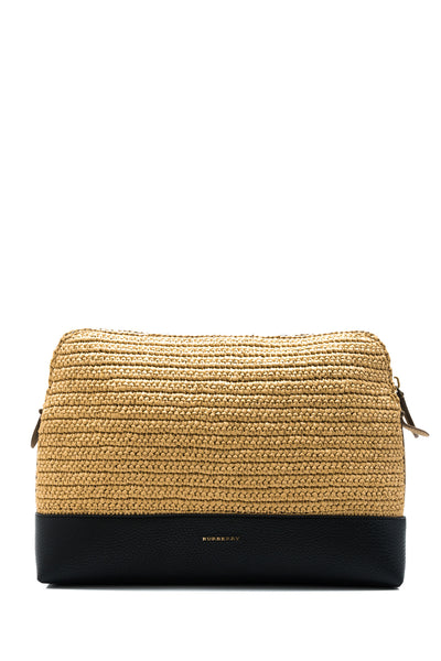 Raffia Document Case