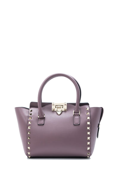 Rockstud Mini Double Handle Bag