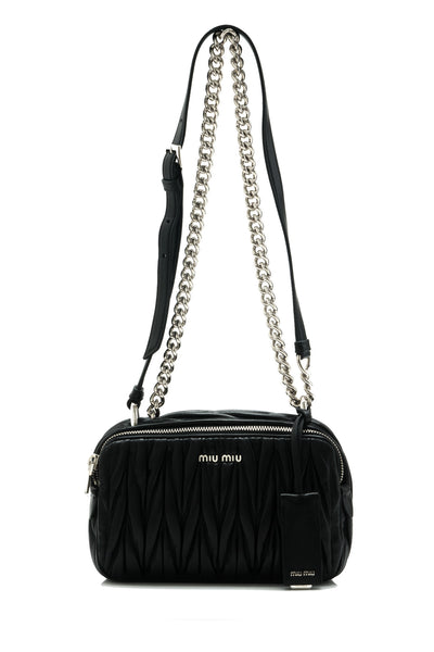 Matelasse Small Shoulder Bag