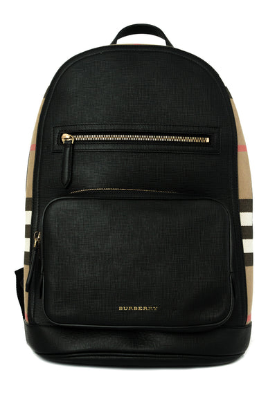 Embossed Bridle House Check Marden Small Backpack