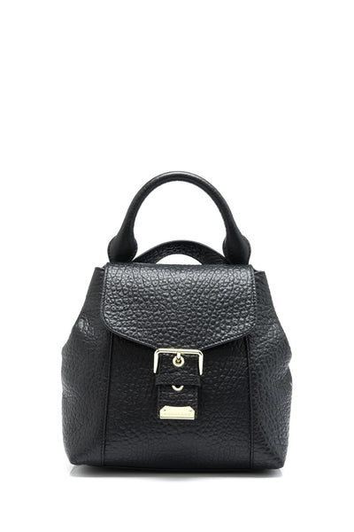 Signature Grain Small Belmont Backpack