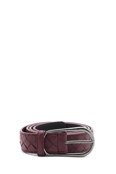 Intrecciato Nappa Leather Belt