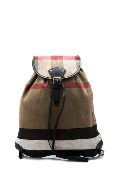 Canvas Check Medium Chiltern Backpack