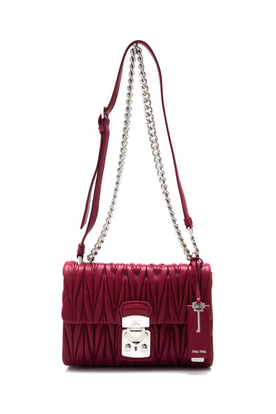 Matelasse Flap Shoulder Bag