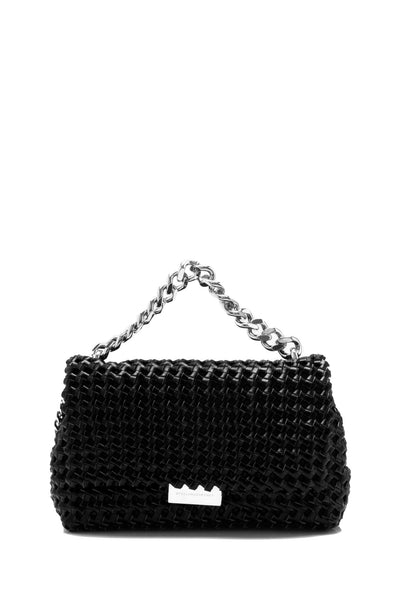 Becks Weaved Mini Shoulder Bag