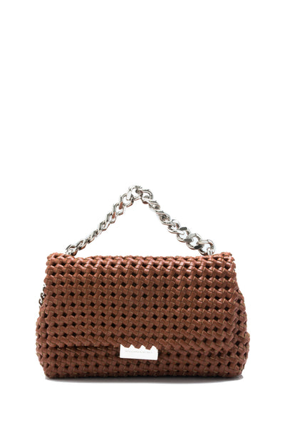 Becks Weaved Shoulder Bag