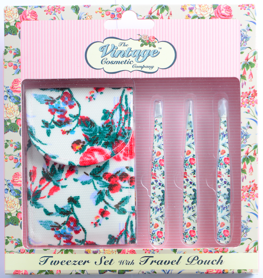 Essential Tweezer Set Blue