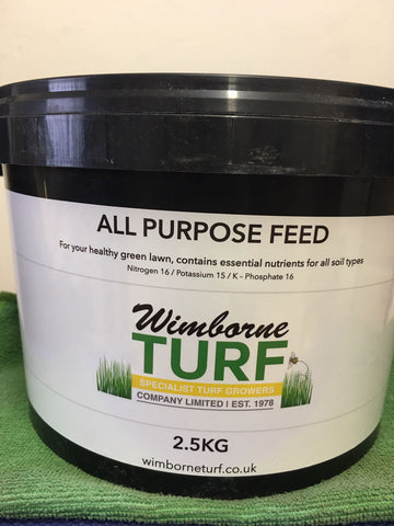 Spring-Summer Lawn Feed -  exclusive to Wimborne Turf