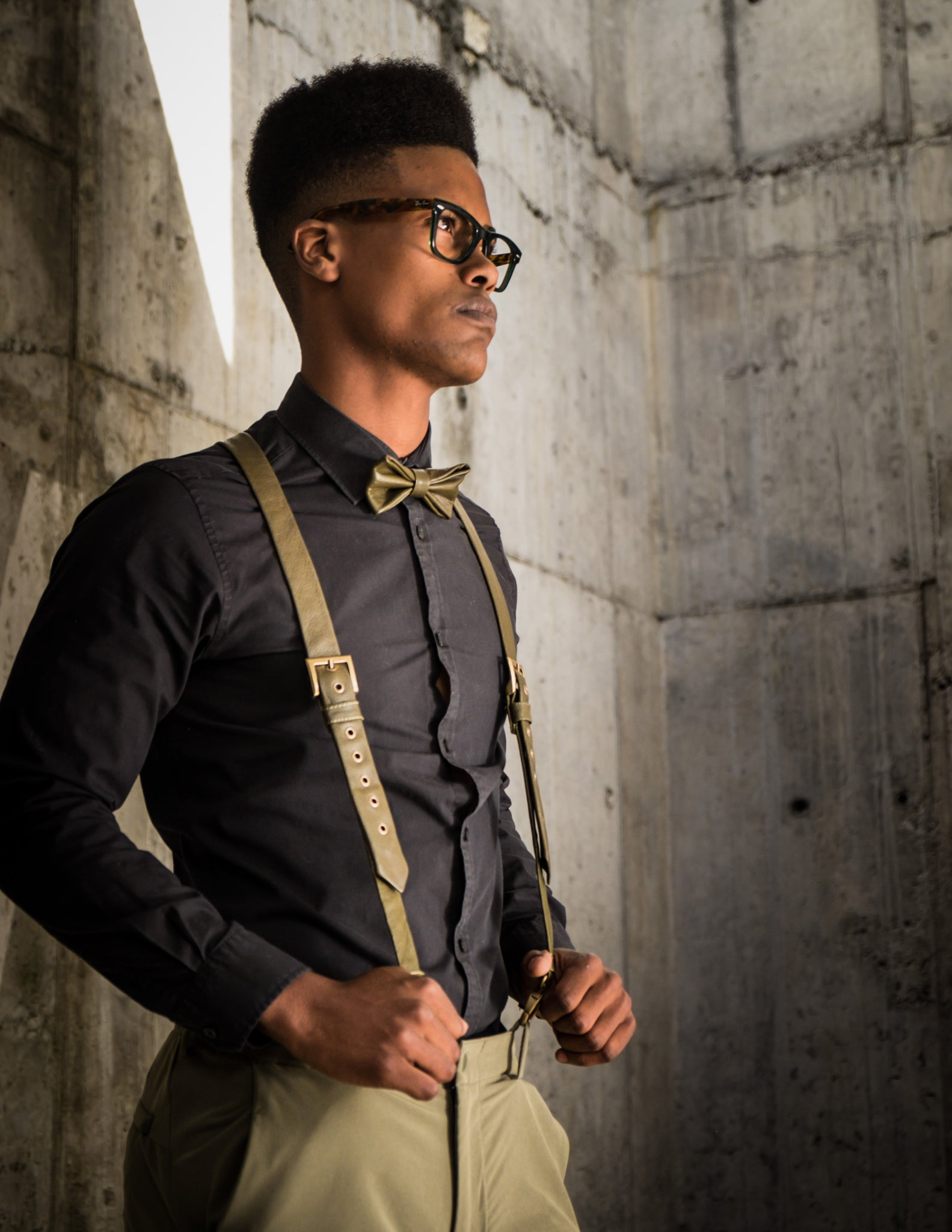 SUSPENDERS NO.1 – DEEP NAVY