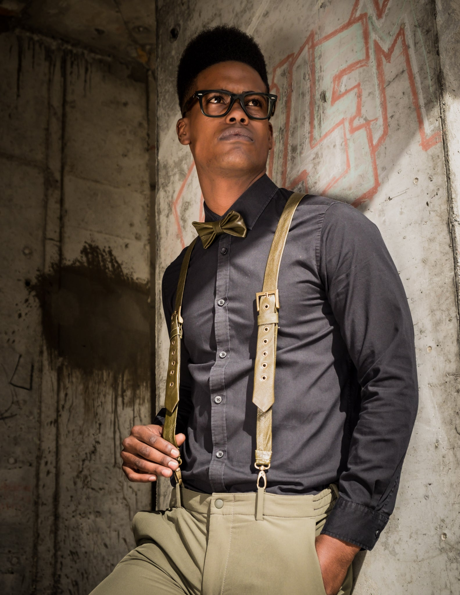 SUSPENDERS NO.1 – OLIVER GREEN