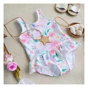 Mermaid Lagoon swimsuit with ruffle