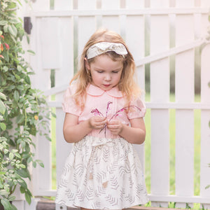 Peaches and Cream Collared Blouse