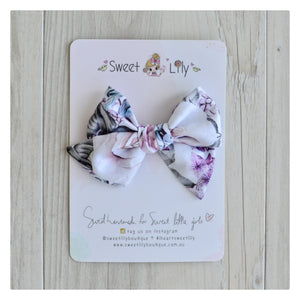 Custom Fabric Hand tied bow