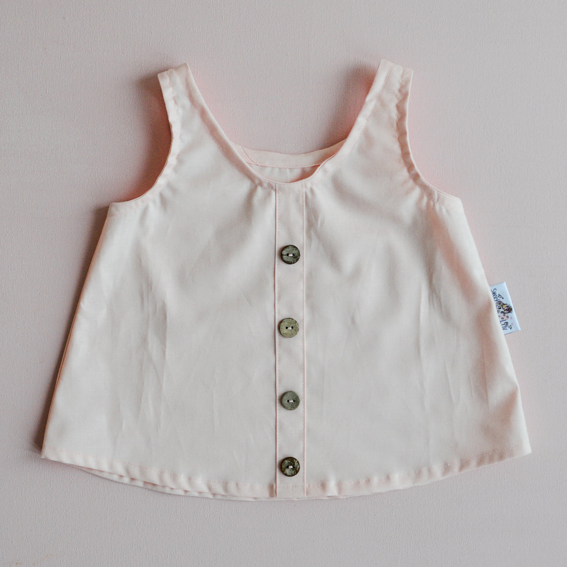 Piper Top in Peaches and Cream