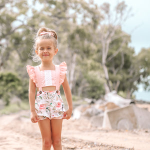 Sweet Pea Shortsuit/Dress in Olivia