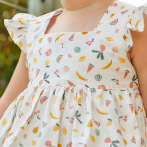 Summer Fruits Tunic Dress