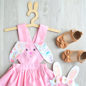 Bunny Dress in Pastel Floral