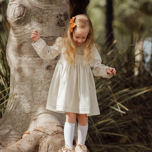 Oatmeal Linen Roanoke Dress