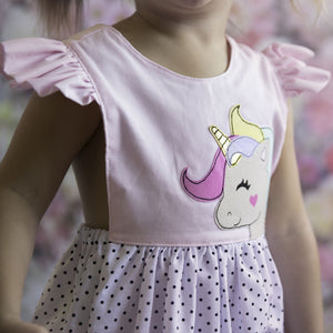 Unicorn Party Romper