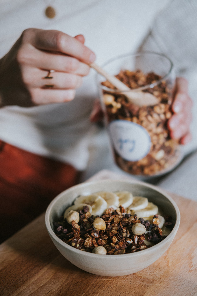 Granola - An ingredient for a healthy lifestyle