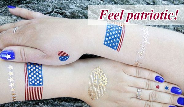 Temporary tattoos USA