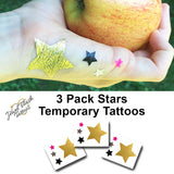 Stars for July 4th tattoo stickers | Jewel Flash Tattoos photo