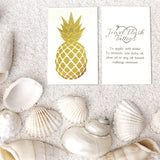 Pineapple temporary tattoos for summer