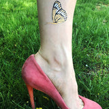 Monarch butterfly flash tattoos for summer, party, gift ideas for women | Photo by Jewel Flash Tattoos