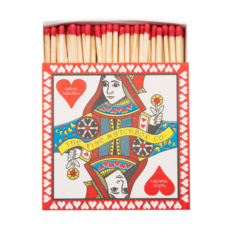 Queen of Hearts Luxury Matches - Eclectic Bohemian