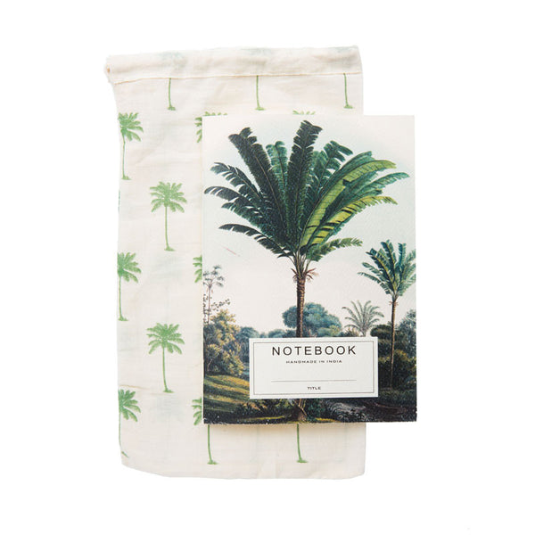 Palm Tree Notebook - Eclectic Bohemian
