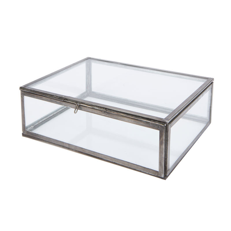 Oni Glass Jewellery Box - Small - Eclectic Bohemian