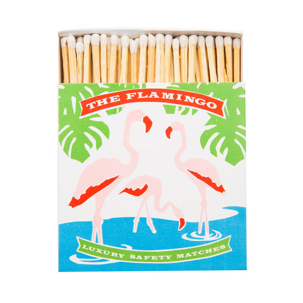 Flamingo Luxury Matches - Eclectic Bohemian
