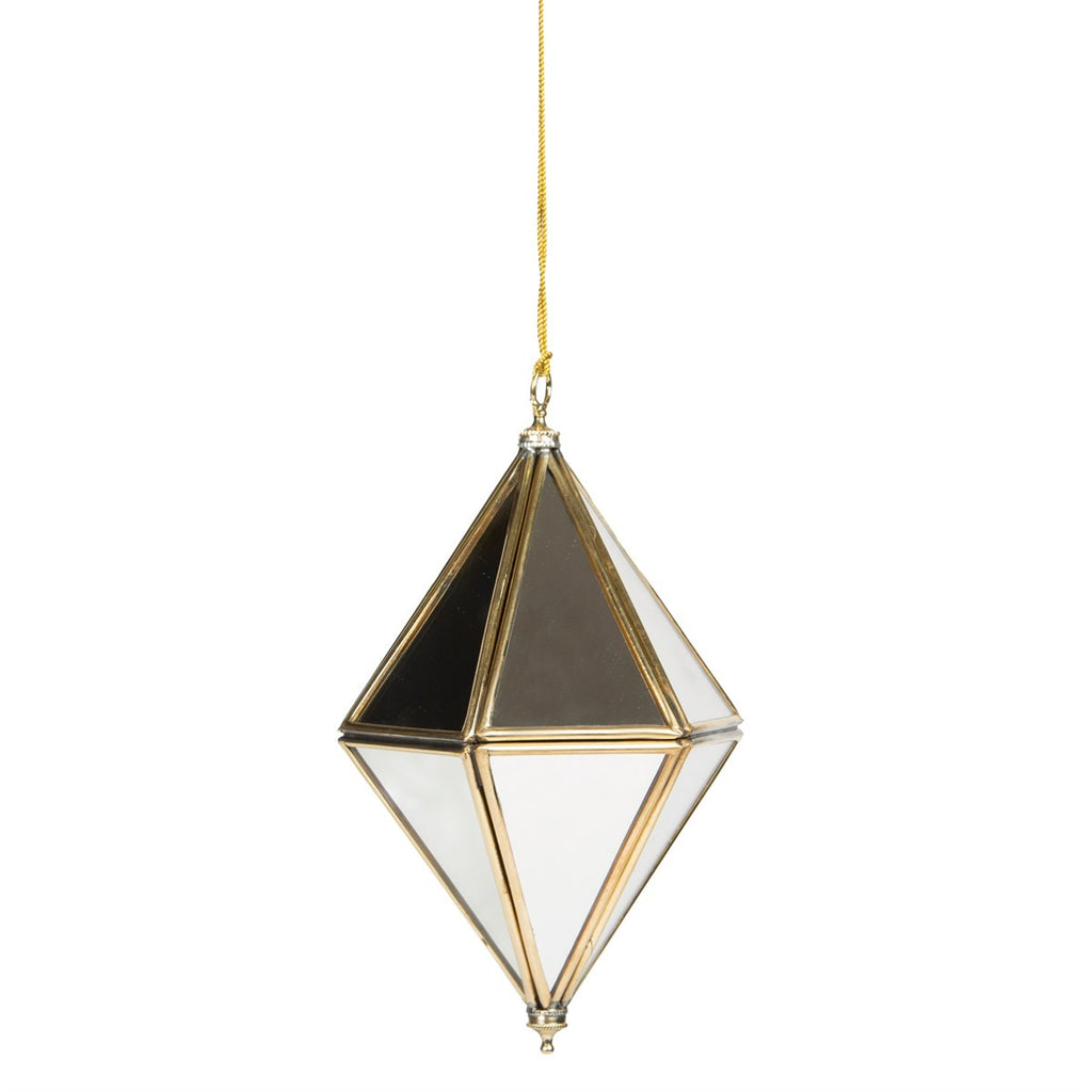Mirror Prism Decoration - Large - Eclectic Bohemian