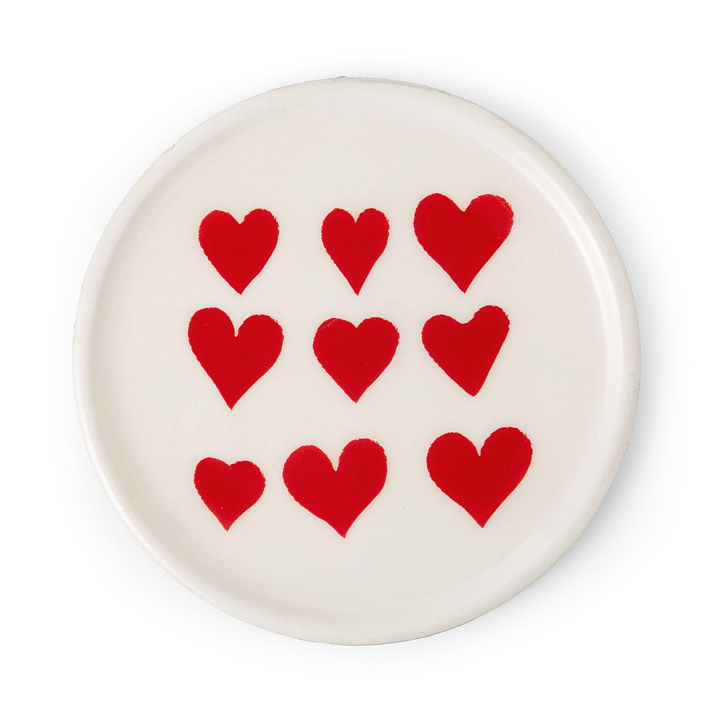 Hearts Plate - Eclectic Bohemian