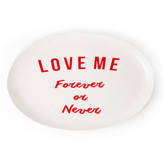 Forever Love Plate - Eclectic Bohemian