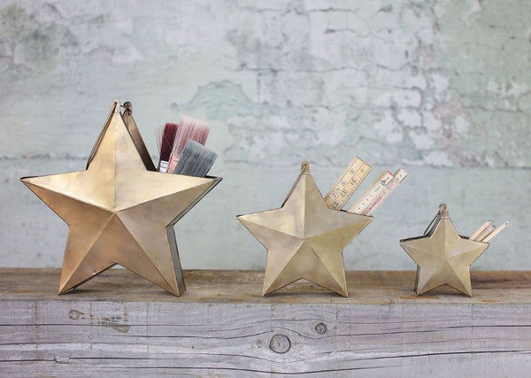 ABESSO STAR POT.  Small.  By Nkuku. - Eclectic Bohemian