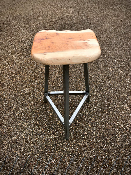 A Yew Stool. Handmade at Fine and Dandy. - Eclectic Bohemian