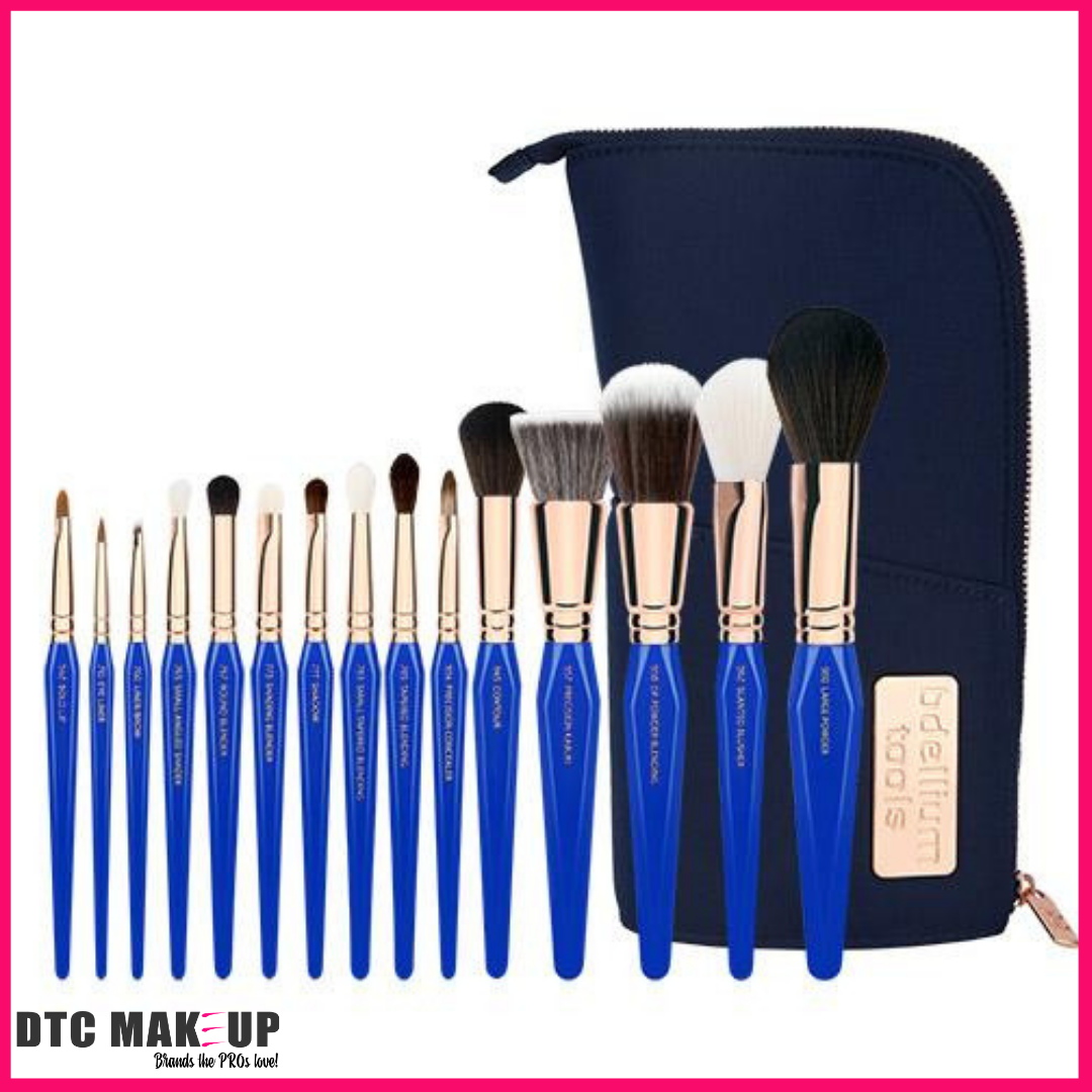 PREORDER Golden Triangle Phase I Complete 15Pc. Brush Set With Pouch