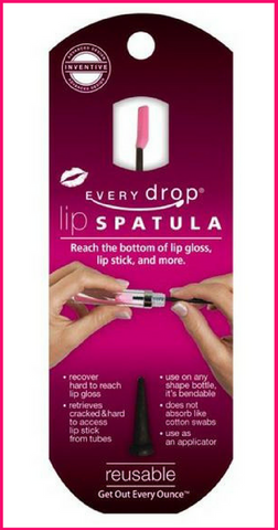 Every Drop Lip Spatula