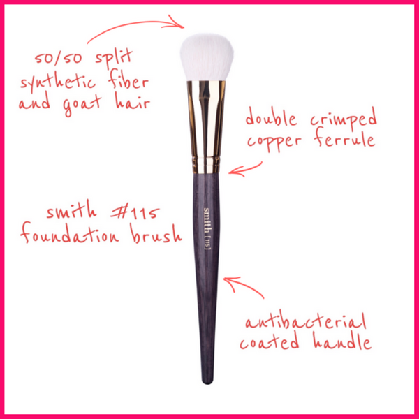 Smith Cosmetics #115 Foundation Brush