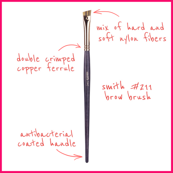Smith Cosmetics #211 Brow Brush
