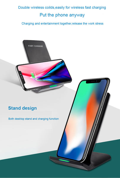 Fast Wireless Charging Stand QC3.0