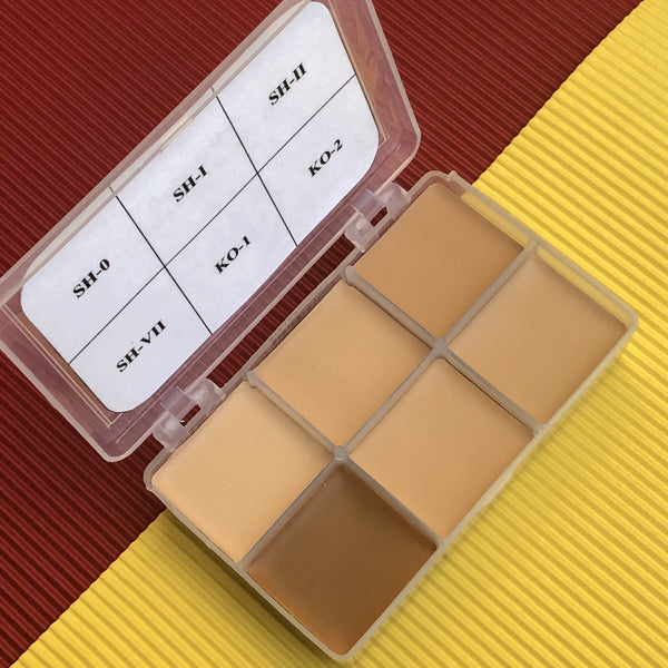 RCMA 6-Part Foundation Palette