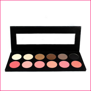 Ben Nye 12-Color Eye Shadow and Rouge Palette