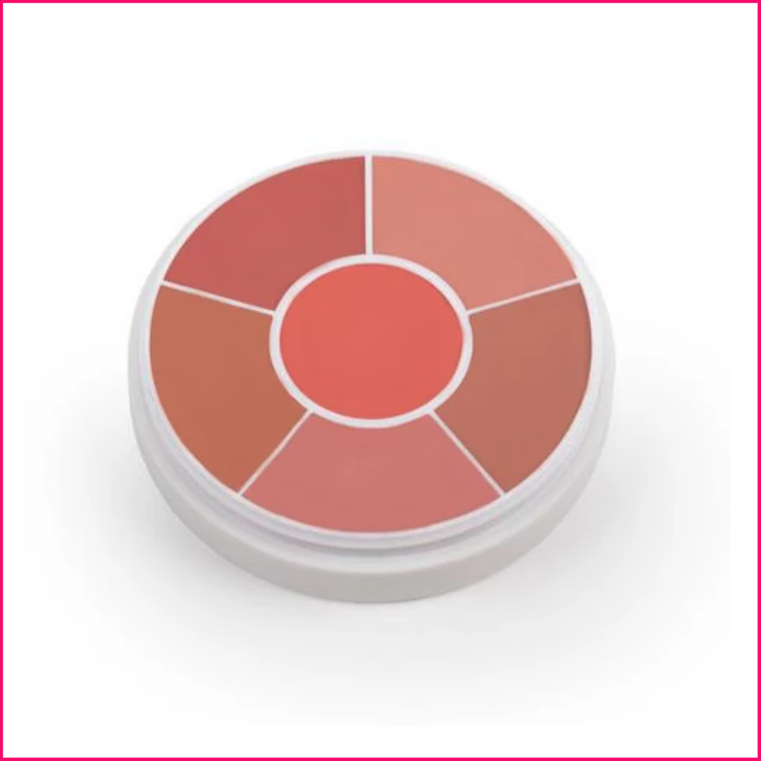 Ben Nye Creme Rouge Wheel Natural Glow CR-200