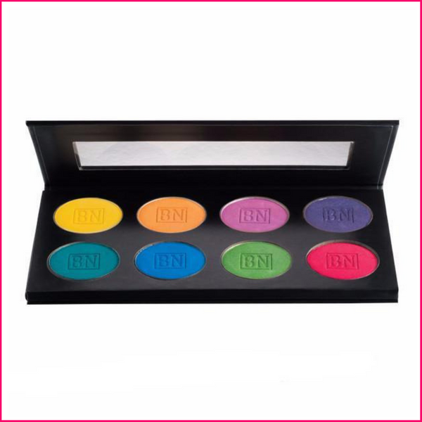 Ben Nye Lumiere Brilliant Shadow Palette 8-color