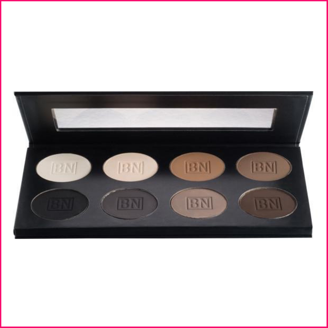 Ben Nye Essential Eye Shadow Palette 8-color