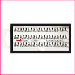 Red Cherry Lashes Knot Free Flare Medium