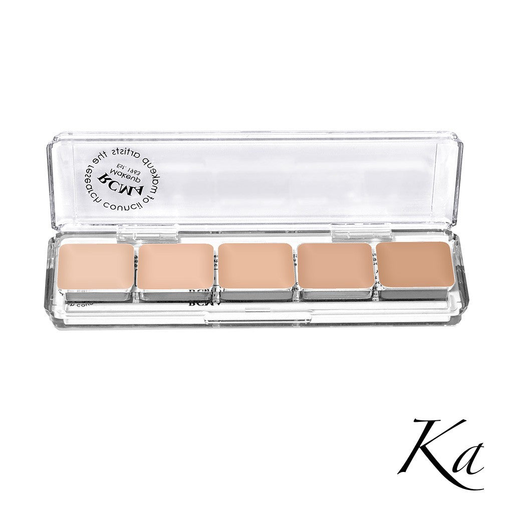 RCMA 5-Part Foundation Palette